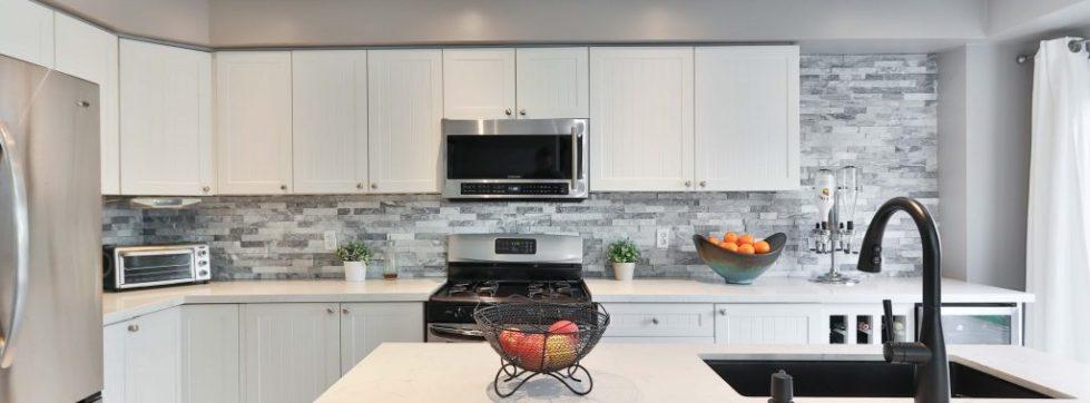 kitchen tap sink stove